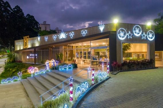 A decoração Natalina em nossa região