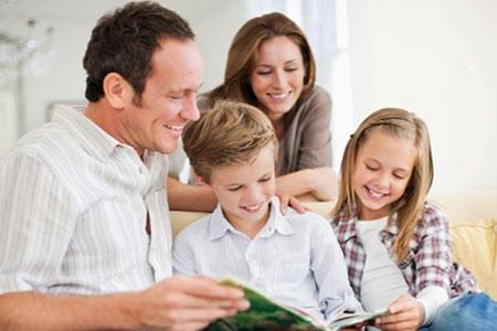 Pais brilhantes contam histórias