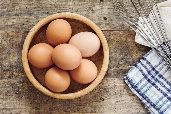 Ovos em casa