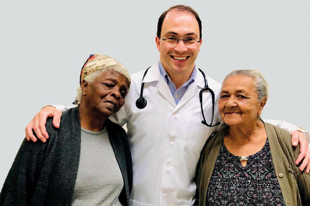 Uma vida dedicada à medicina