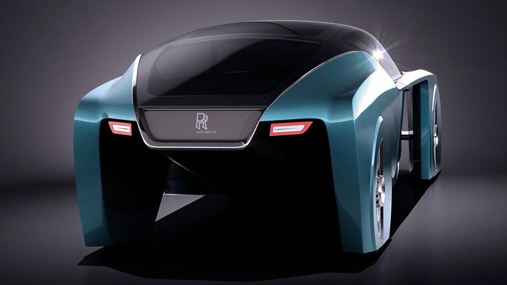 A famosa Supercar Blondie apresenta com exclusividade o carro do futuro: o Rolls-Royce 103EX