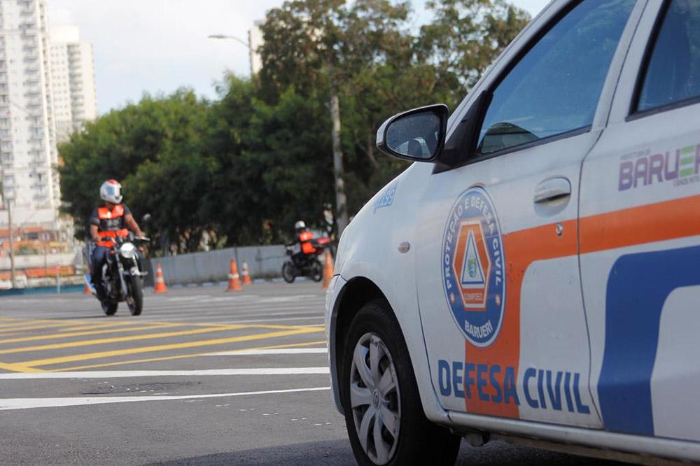 Barueri: Defesa Civil realiza curso de pilotagem defensiva