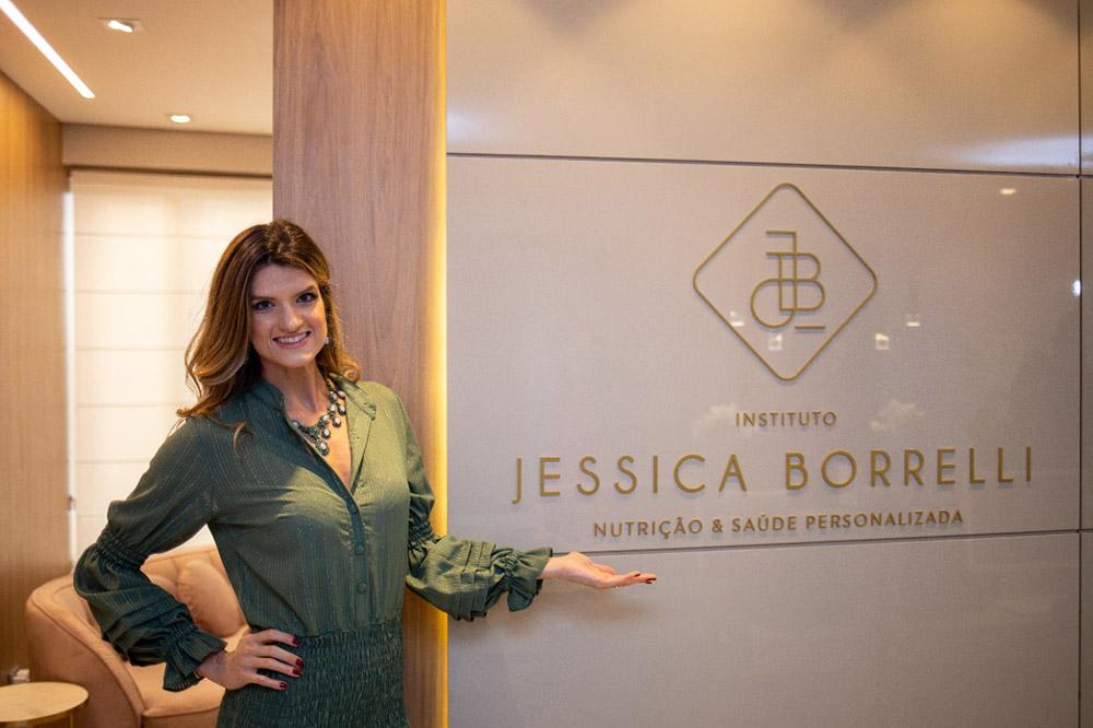 Jéssica Borrelli inaugura instituto único em Alphaville