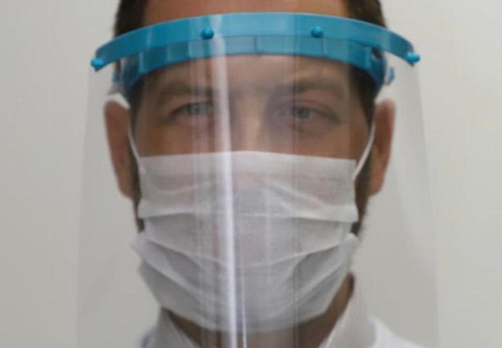 Mondial eletrodomésticos produz 40.000  Protetores faciais para doação
