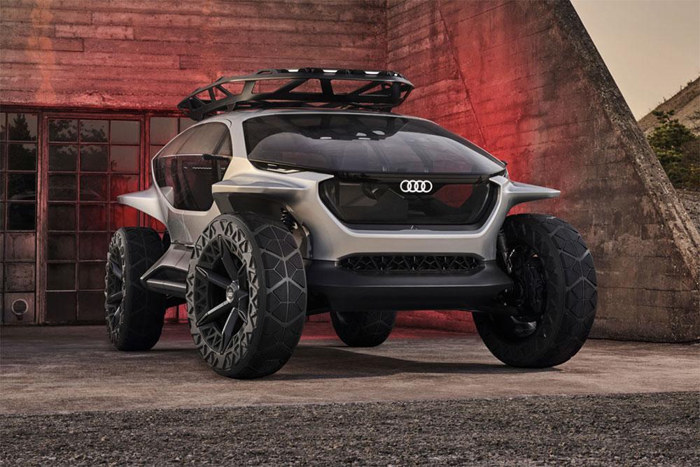 Audi Al: Trail Quattro