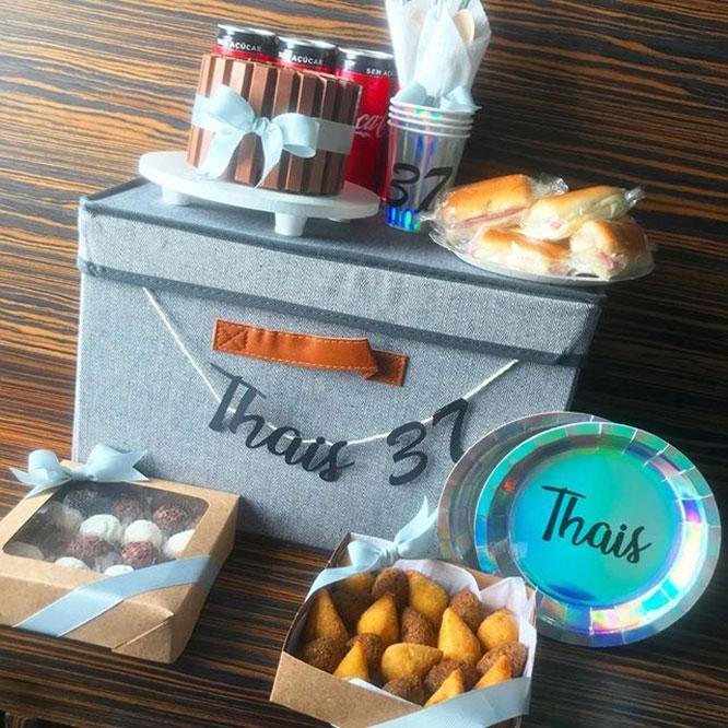 Sua festa em uma caixa