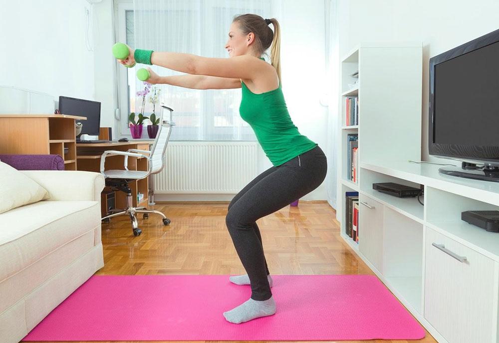 Equipe a sua casa para atividade física