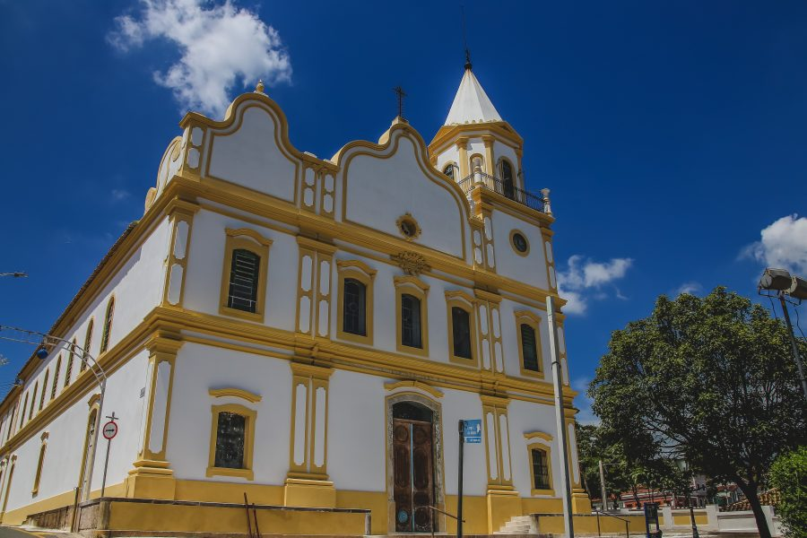 A igreja Matriz de Parnaiba retoma missas presenciais
