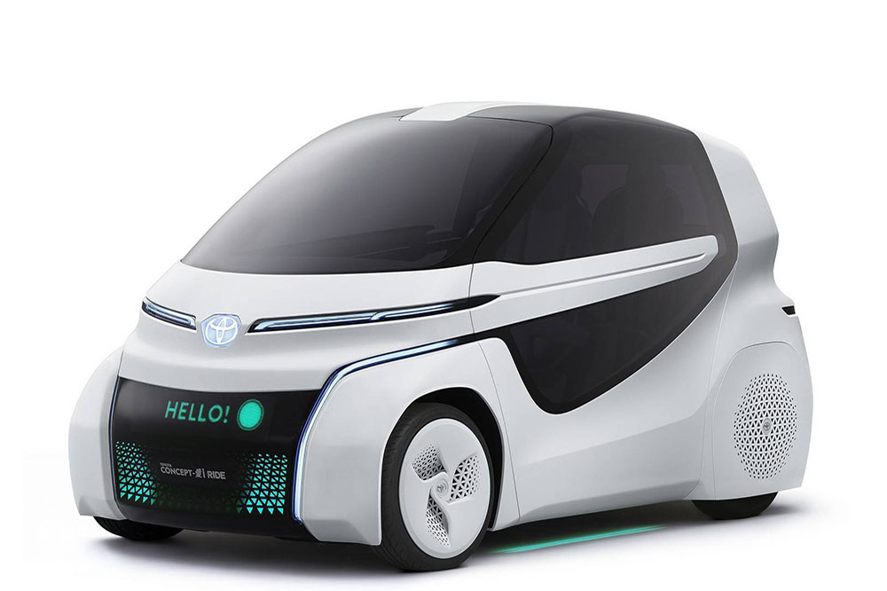 Toyota Concept-I – Definem o futuro da mobilidade