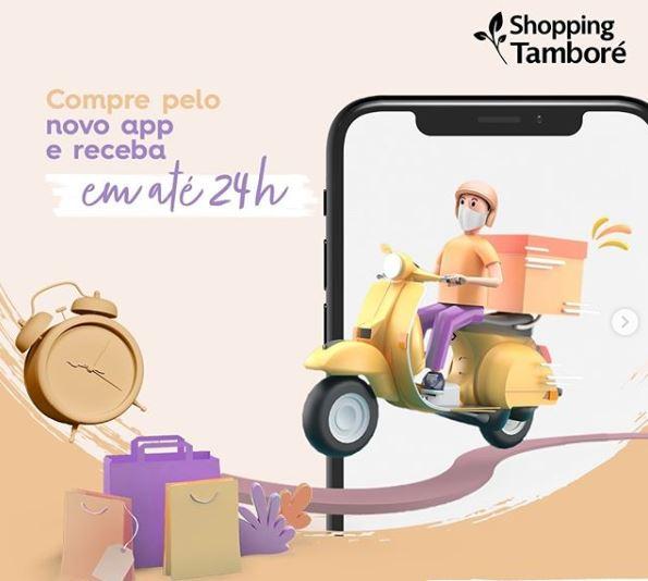Shopping Tamboré cria plataforma de venda mobile