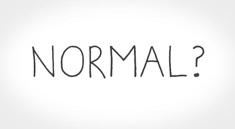 Não seja normal