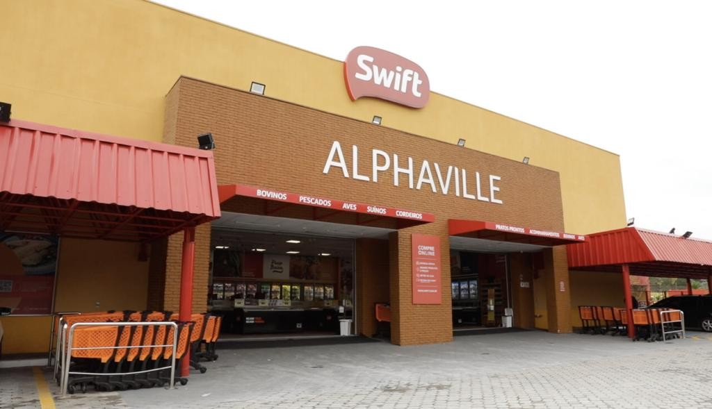 Loja Swift Alphaville repaginada e mais bonita