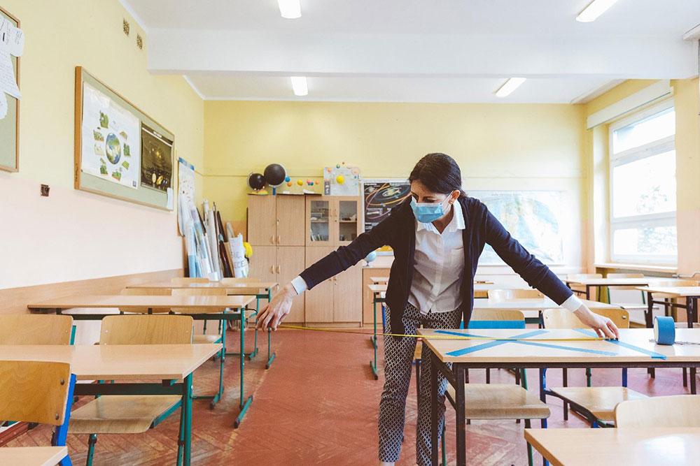 Volta às aulas com saúde