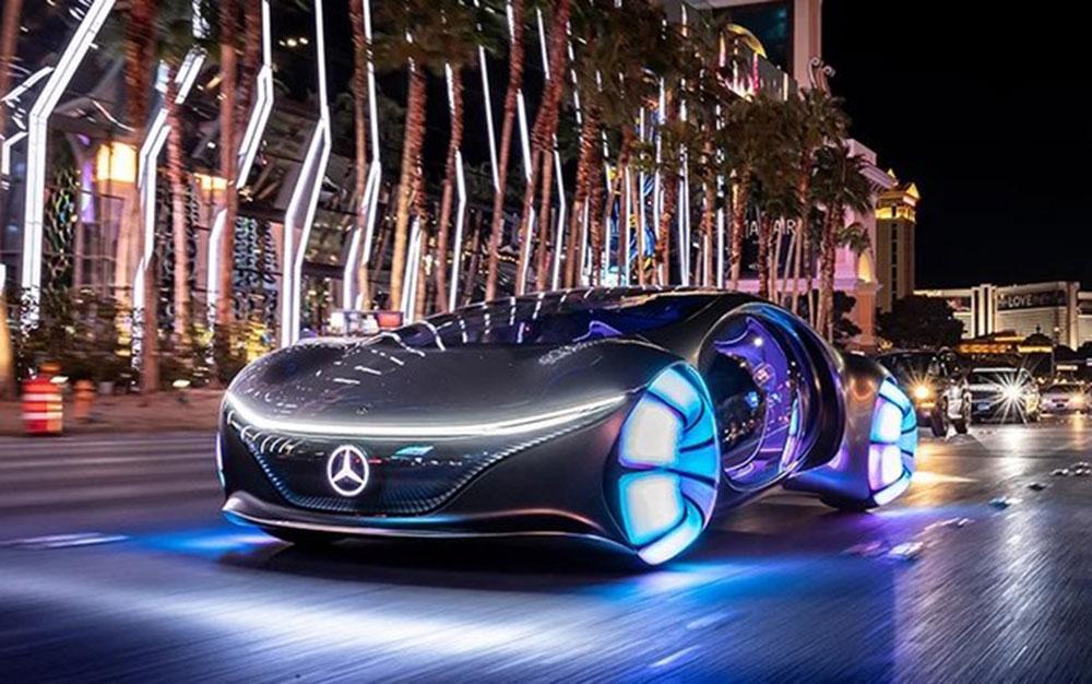 Mercedes-Benz Vision AVTR –  Inspirado No Filme Avatar