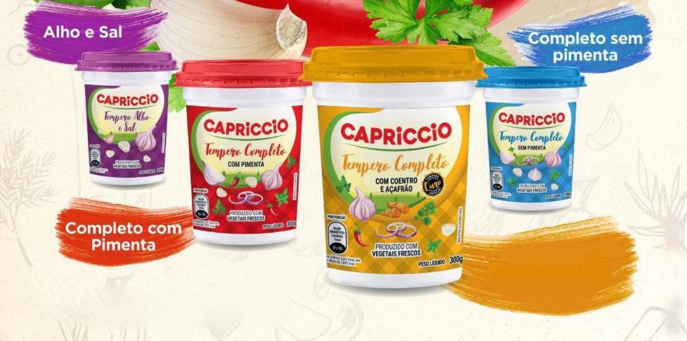 Vegetais frescos e mais sabores nos novos temperos em pasta