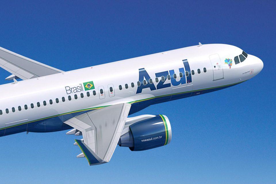 Azul, espera operar 505 voos diários em outubro