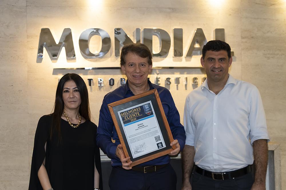 Mondial foi eleita a melhor empresa do Brasil pelo MESC