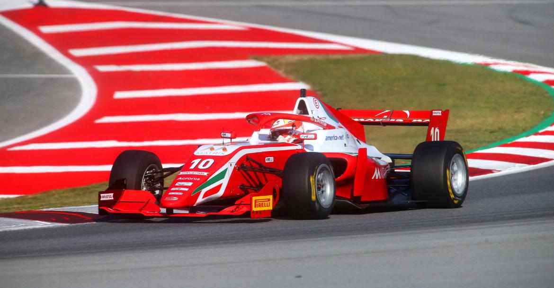 Gianluca Petecof piloto de Alphaville, na F-Regional Europa