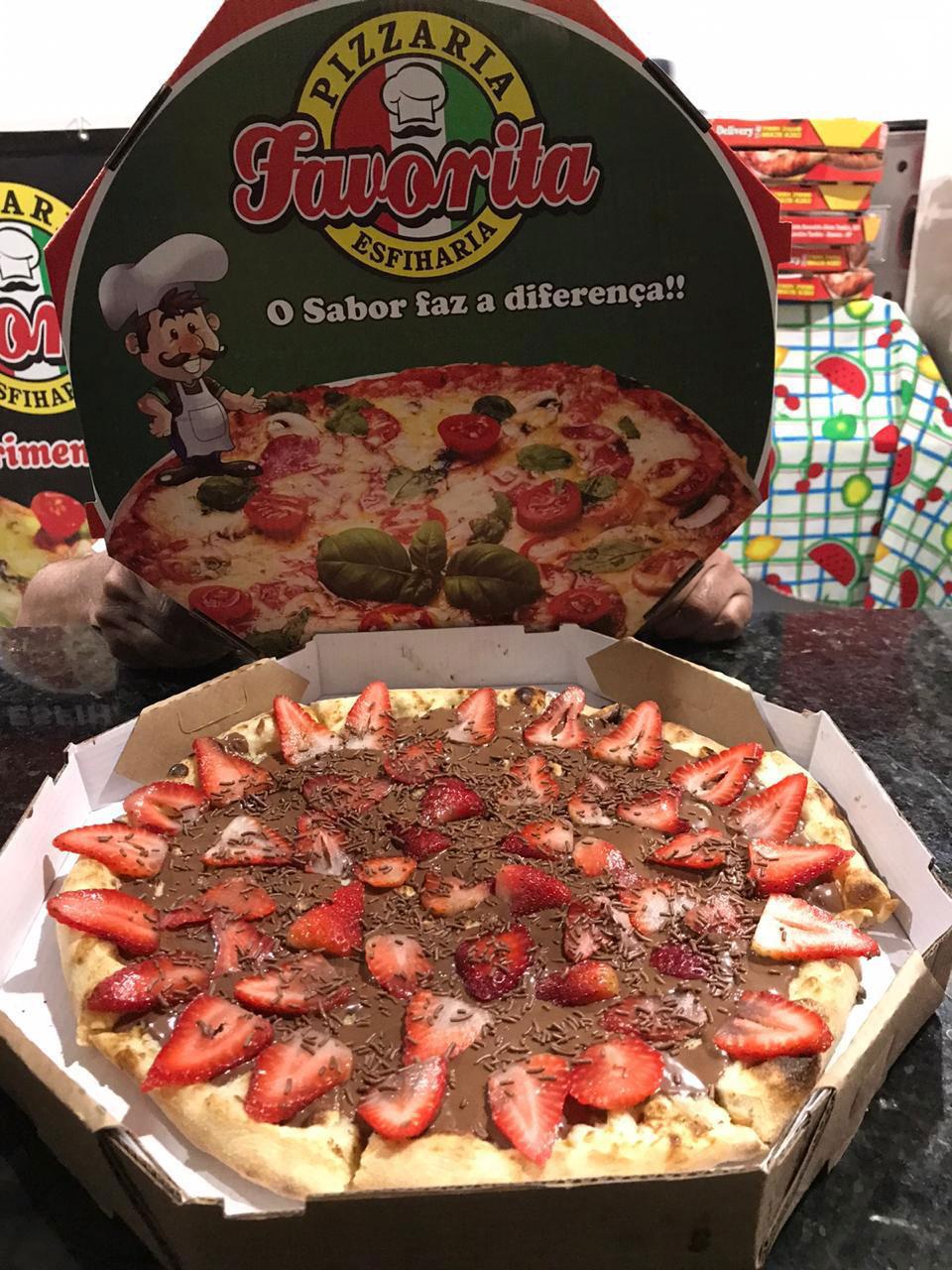 Pizzaria e Esfiharia no Alphasítio