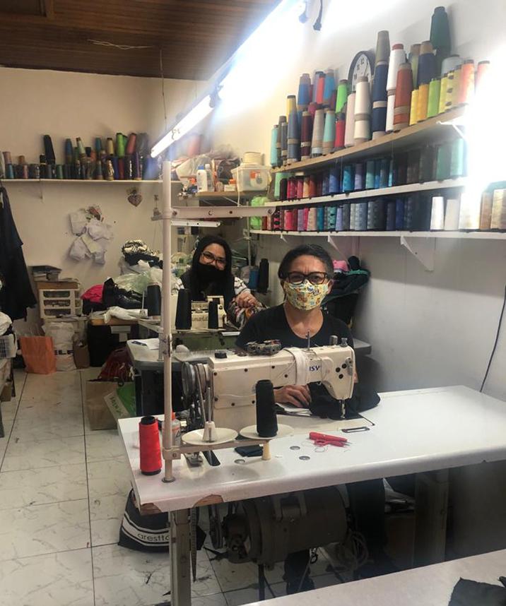 Ateliê Vieira: conserto de roupas