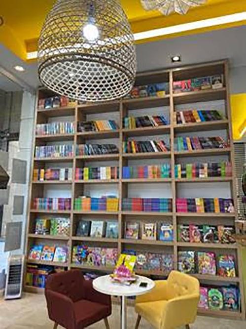 Nova Livraria no Alpha Square Mall