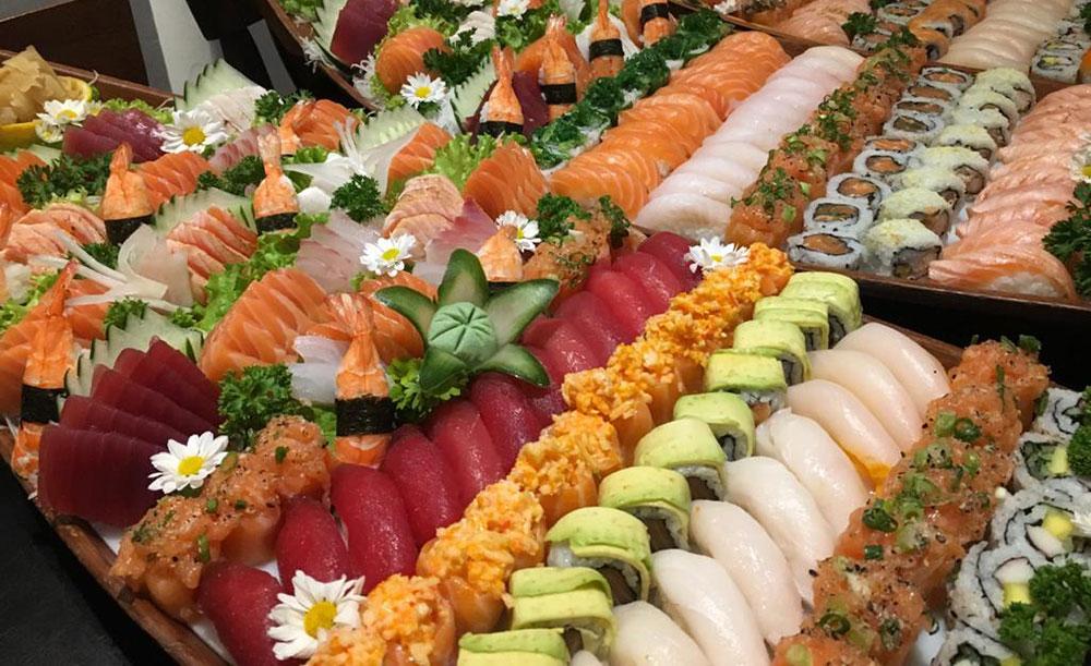 Jankenpô. Comida japonesa na sua festa