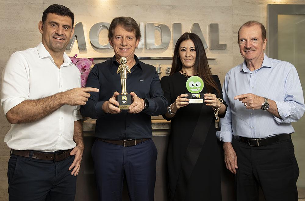 Mondial conquista o 1º lugar em atendimento no Prêmio ReclameAQUI