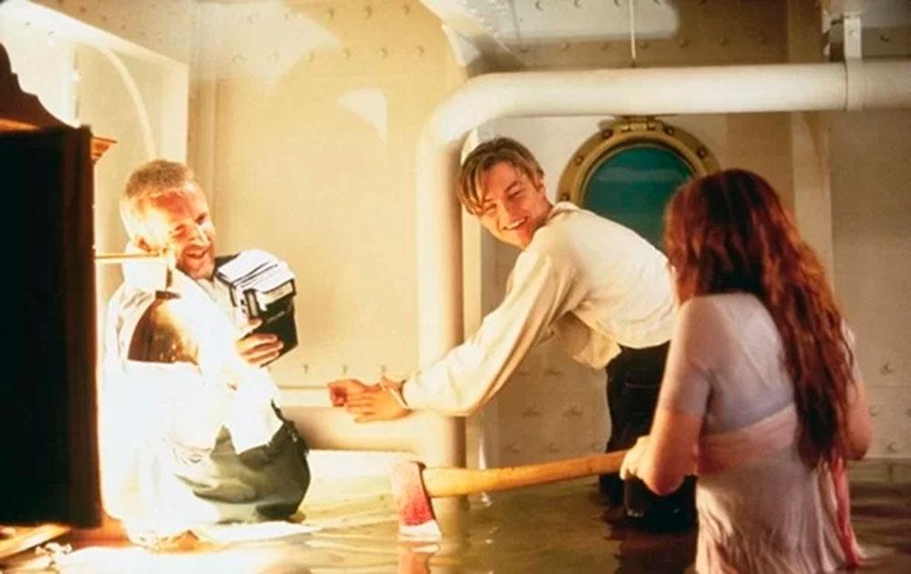 "Fotos raras dos bastidores de ""Titanic"""