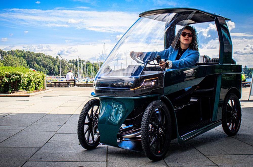 CityQ – Bicicleta elétrica com 4 rodas