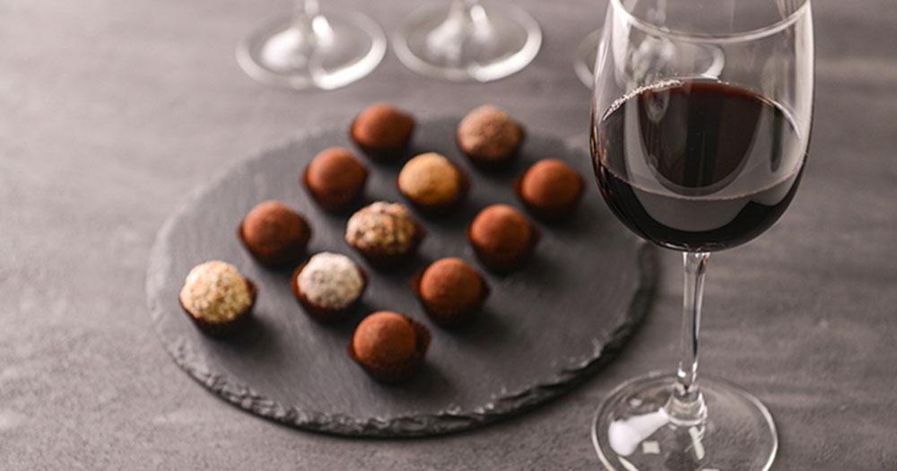 Vinho e Chocolate combinam?
