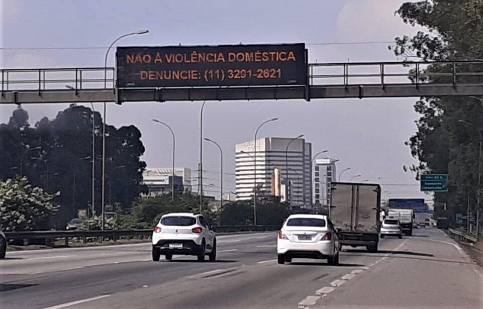CCR ViaOeste e RodoAnel apoiam campanha contra violência doméstica
