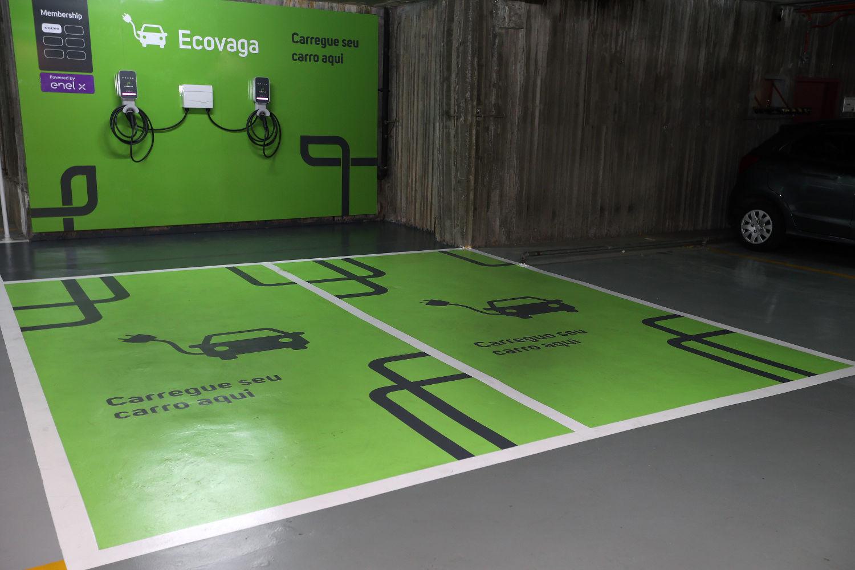 Alpha Square Mall instala Ecovagas