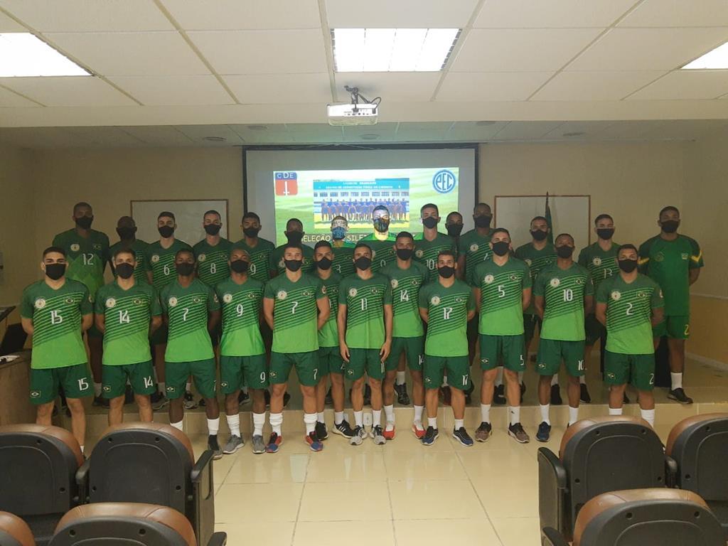 Atletas de Barueri convocados para a Seleção Militar de Futebol