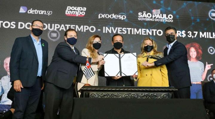 Doria anuncia implantação do Poupatempo em Parnaíba