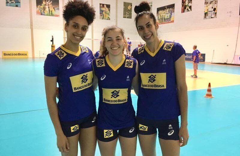 Seleção brasileira de vôlei tem quatro jogadoras de Barueri