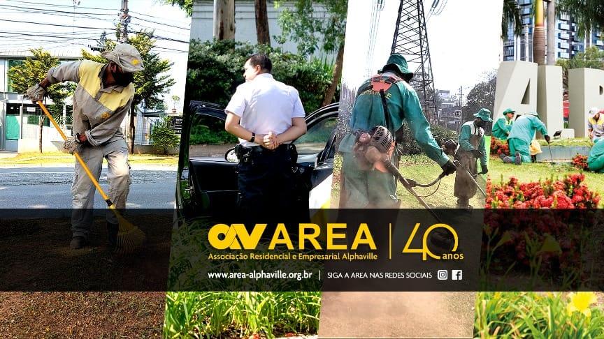 Alarmes monitorados pela AREA garante mais segurança para comunidade empresarial de Alphaville.