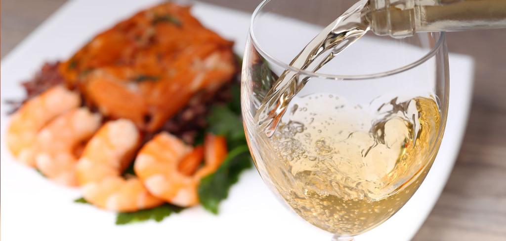 Peixe com vinho branco e carne com tinto?