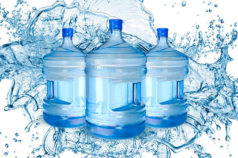 Água mineral de garrafão