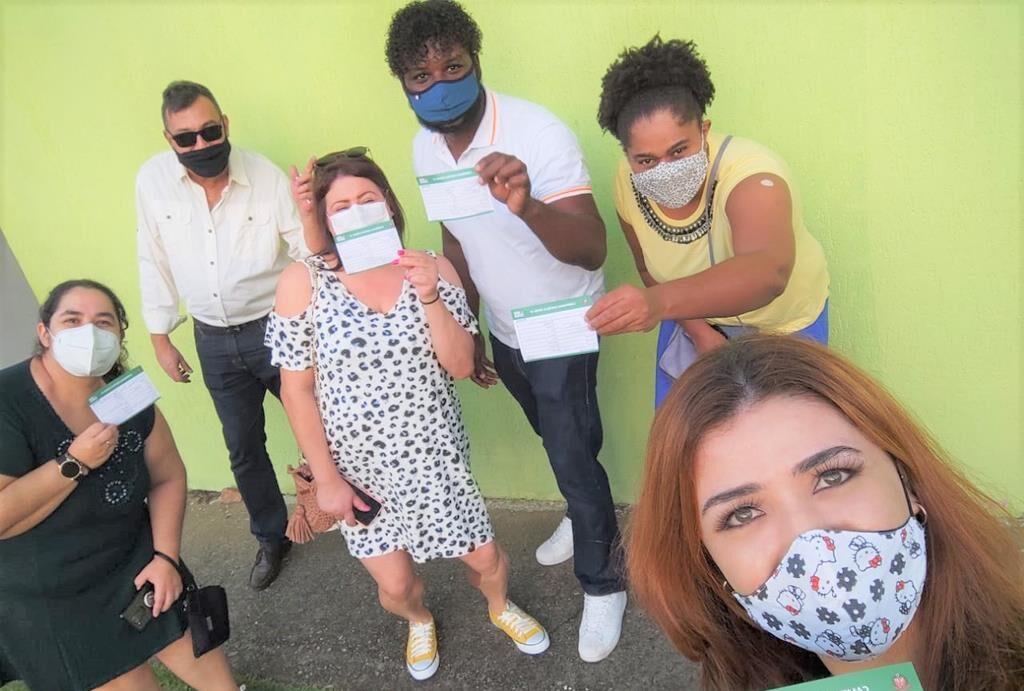 Força tarefa imuniza profissionais da Educação contra a covid 19