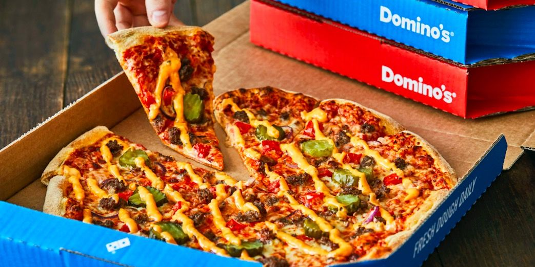 Domino's dará pizza para quem tomar as duas doses da vacina contra covid