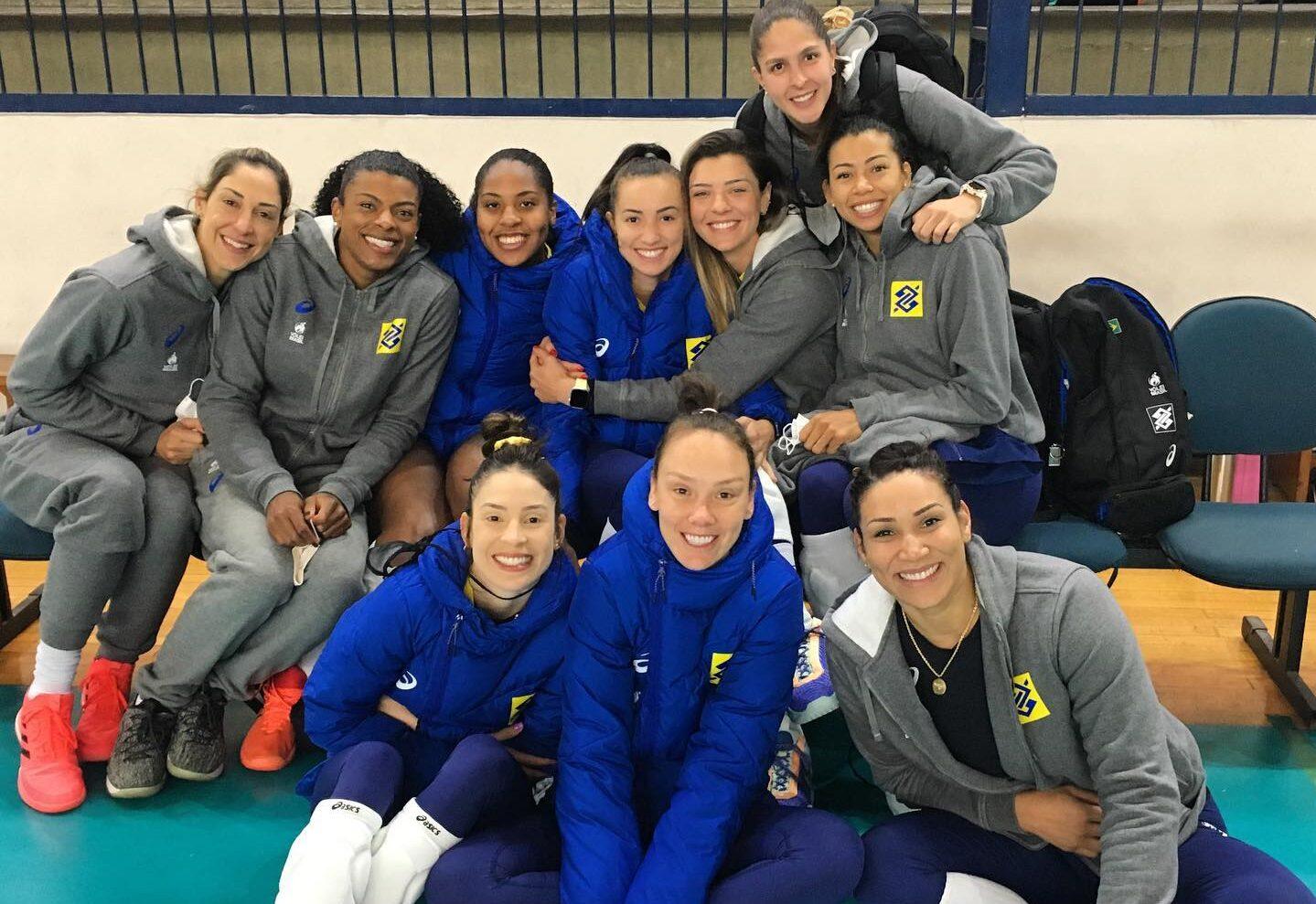 Seleção Feminina de Vôlei treina em Barueri para Tóquio