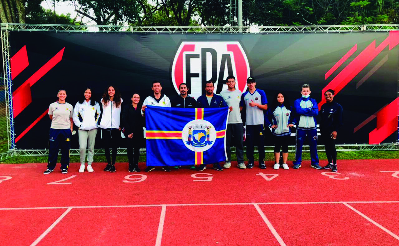 Atleta parnaibano conquista 1º lugar no Campeonato Paulista de Atletismo Sub-20