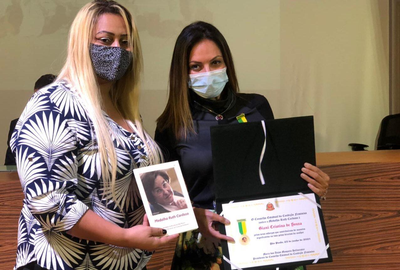 Luta pelos direitos femininos rende medalha a Barueri