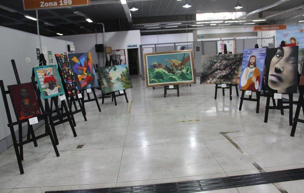 Ganha Tempo de Barueri recebe exposição de artes visuais